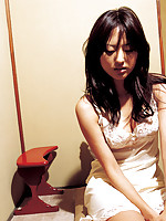Sayaka Ogata Asian sexy doll is photographed in various places