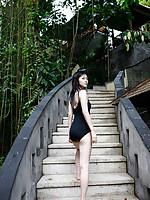 Airi Suzuki Asian walks on favorite streets exposing her curves