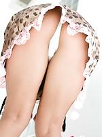 Natsuki Takahashi Asian loves exposing her nasty bum under skirt